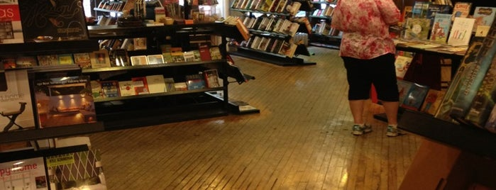 Sandmeyer's Bookstore is one of 6 Things to Do in Printers Row.
