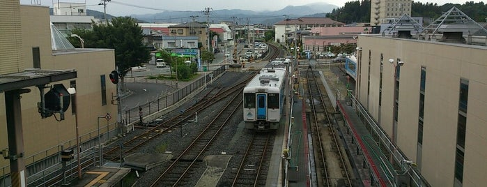 Sagae Station is one of 東北の駅百選.