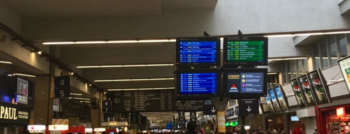 Gare SNCF de Paris Montparnasse is one of France.