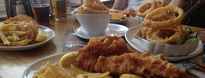 The Pilot Fish & Chips is one of Steve's Tips.