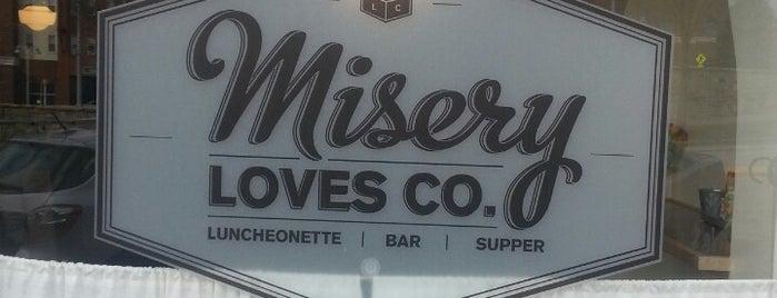 Misery Loves Company is one of Burlington's Best Food & Drink.