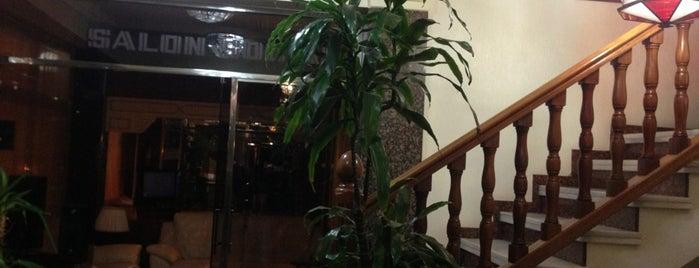hotel cisne is one of Donde comer y dormir en cordoba.