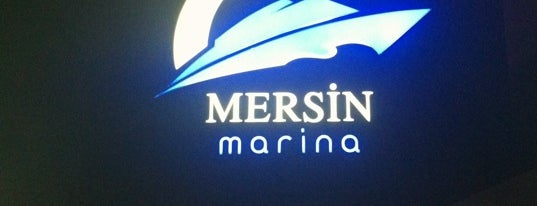 Mersin Marina is one of BURSASPOR 4sq.