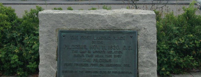 Pilgrims' First Landing Park is one of Landmarks.