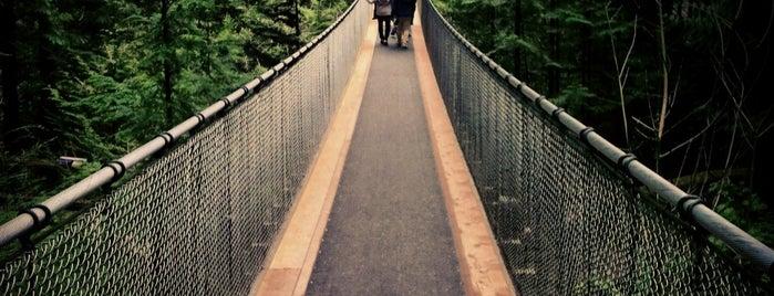 Capilano Suspension Bridge is one of Vancouver.