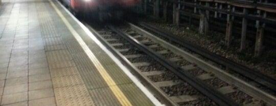 Northolt London Underground Station is one of Tube Challenge.