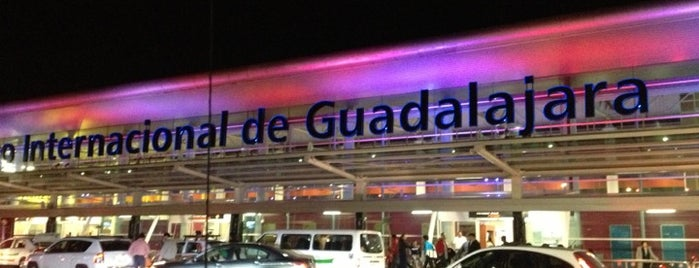 "Aeropuerto Internacional de Guadalajara ""Miguel Hidalgo y Costilla"" (GDL) is one of Airports."