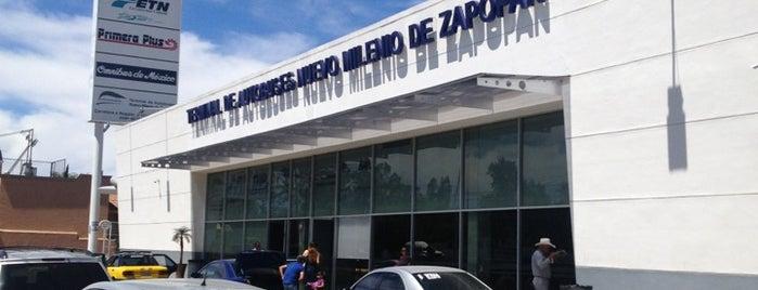 Terminal de Autobuses Nuevo Milenio de Zapopan is one of Tips ETN.