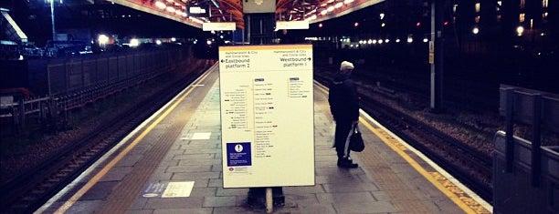 Royal Oak London Underground Station is one of Tube Challenge.