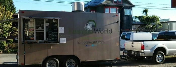 Lumpia World — Trailer is one of SLU Food Trucks.