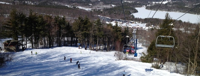 Wachusett Mountain Ski Area is one of My favorites for Ski Areas.