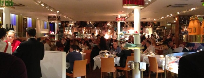 San Carlo is one of Foodies in Manchester.