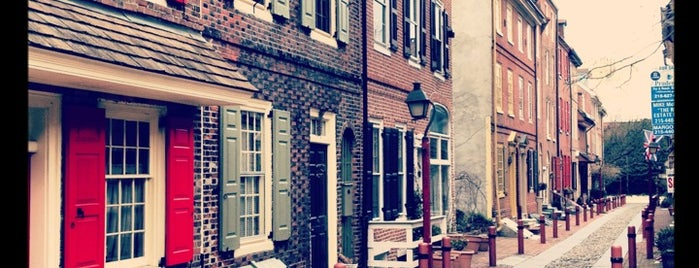Elfreth's Alley Museum is one of Phila.