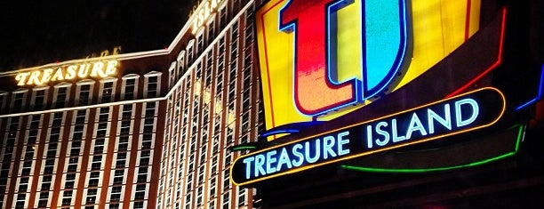 Treasure Island - TI Hotel & Casino is one of Vegas.