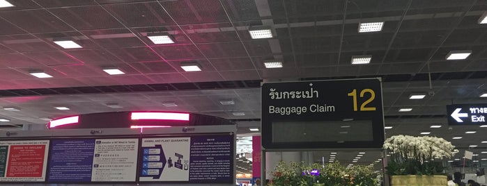 Baggage Claim 12 is one of TH-Airport-BKK-1.