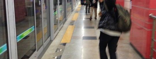 복정역 (Bokjeong Stn.) is one of Subway Stations in Seoul(line1~4 & DX).