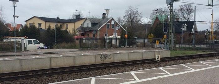 Ödåkra Station is one of Tågstationer - Sverige.