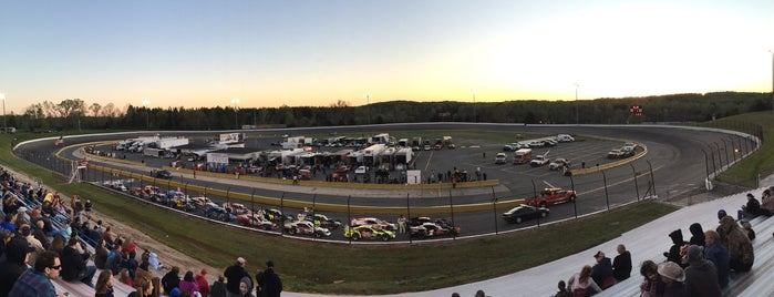 Concord Motor Speedway is one of Favorite places.