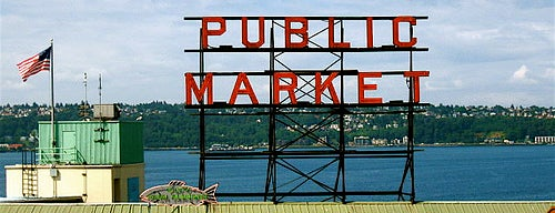 Pike Place Market is one of Favorite places I've visited.