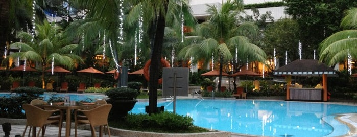 Pool Area Edsa Shangri-La is one of Favorite Great Outdoors.