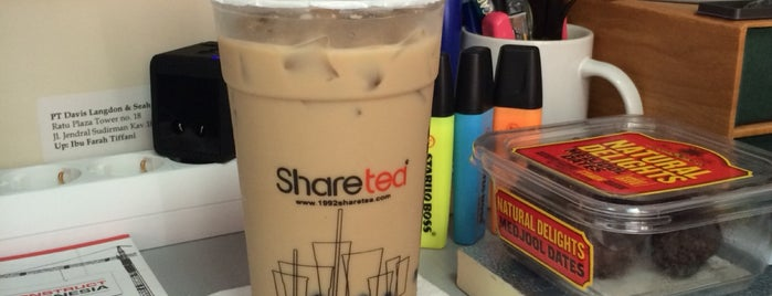 Share Tea is one of Farah's Tips.