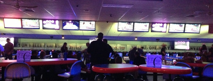 Sun Valley Lanes is one of Bowling.