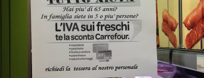 Carrefour Express is one of PdV.