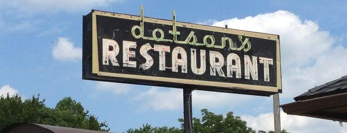 Dotson's Restaurant is one of 20 favorite restaurants.