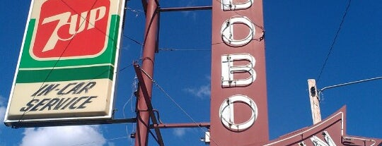 Bobo's Drive In is one of Diners, Drive-ins and Dives.