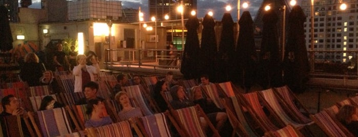 Rooftop Cinema is one of Melbourne Music & Event Spaces.