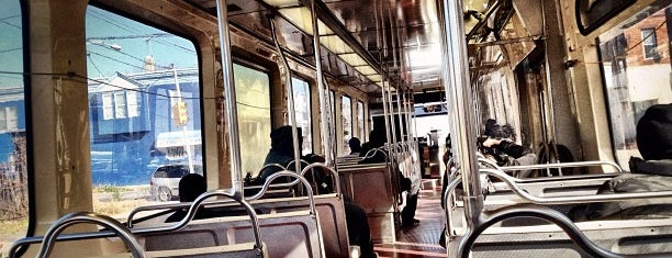 SEPTA Trolley No 13 is one of My places.