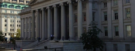 US Department of the Treasury is one of Washington, DC.