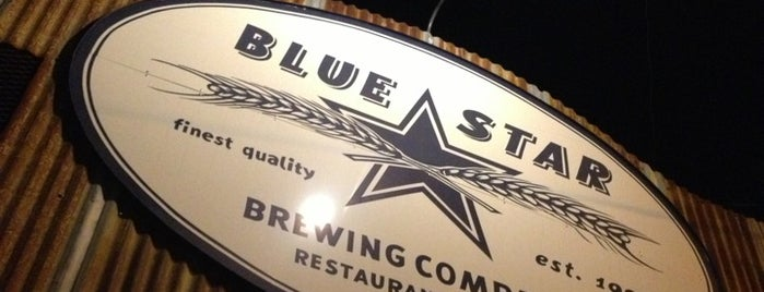 Blue Star Brewing Company is one of Texas Craft Breweries.