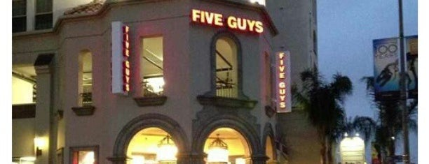 Five Guys is one of Burger Joints!.