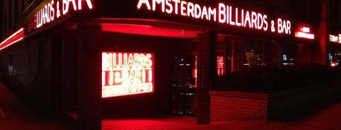 Amsterdam Billiards & Bar is one of kunterbunt.