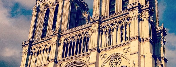 Cathedral of Notre Dame de Paris is one of First Time in Paris?.