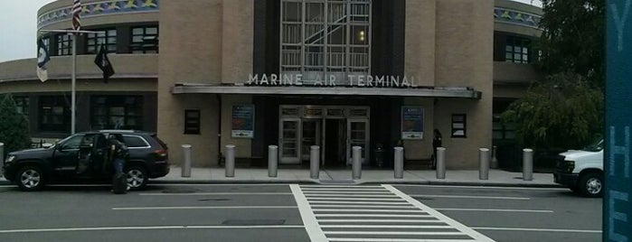 Marine Air Terminal is one of Airports and hotels I have known.