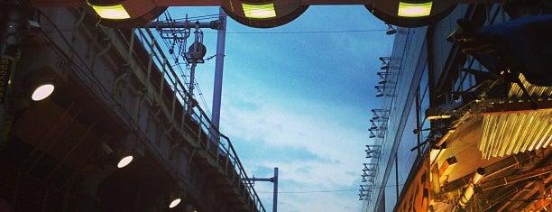 上野アメ横商店街 アメヤ横丁 (Ameya Yokocho) is one of 行った所&行きたい所&行く所.