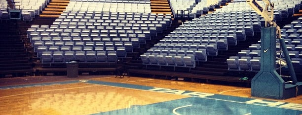 Dean E. Smith Center is one of Chapel hill favorites.
