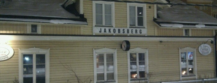 Jakobsberg (J) is one of SE - Sthlm - Pendeltåg.