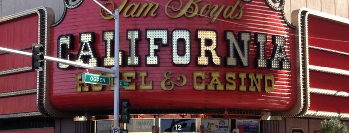 The California Hotel & Casino is one of CASINOS.