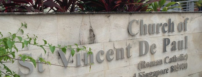 Church Of Saint Vincent De Paul is one of The Houses of Prayers & Worship.
