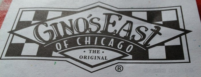 Gino's East is one of Windy City To-Do List.