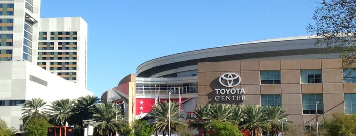 Toyota Center is one of JYM Hockey Arenas TOP100.