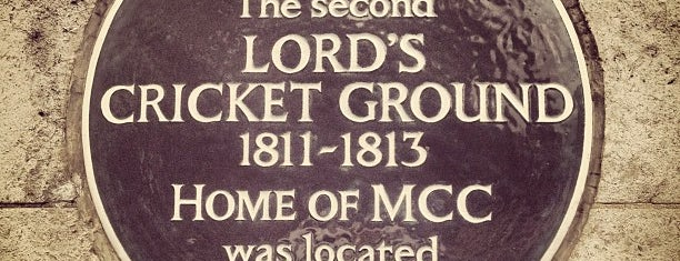 Lord's Cricket Ground (MCC) is one of London City Badge - London Calling.