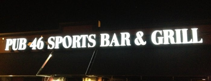 Pub 46 Sports Bar & Grill is one of Nightlife.