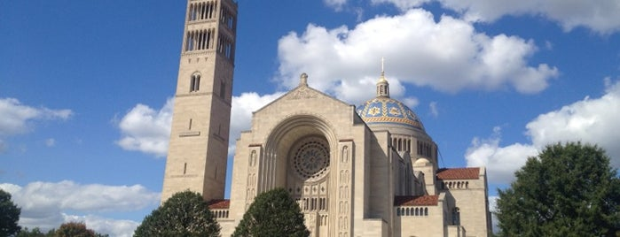 Basilica of the National Shrine of the Immaculate Conception is one of Washington, DC.