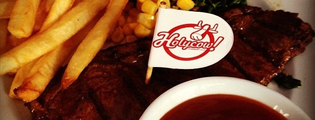 Holycow! Steakhouse is one of Must-visit Food in Yogyakarta.
