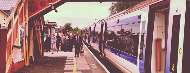 Stratford-upon-Avon Railway Station (SAV) is one of Railway Stations in UK.
