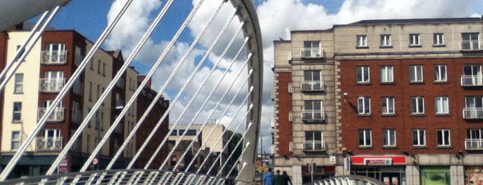 James Joyce Bridge is one of Dublin Tourist Guide.